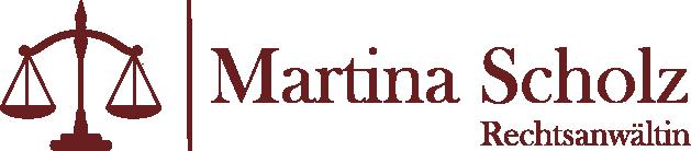 Rechtsanwältin Martina Scholz